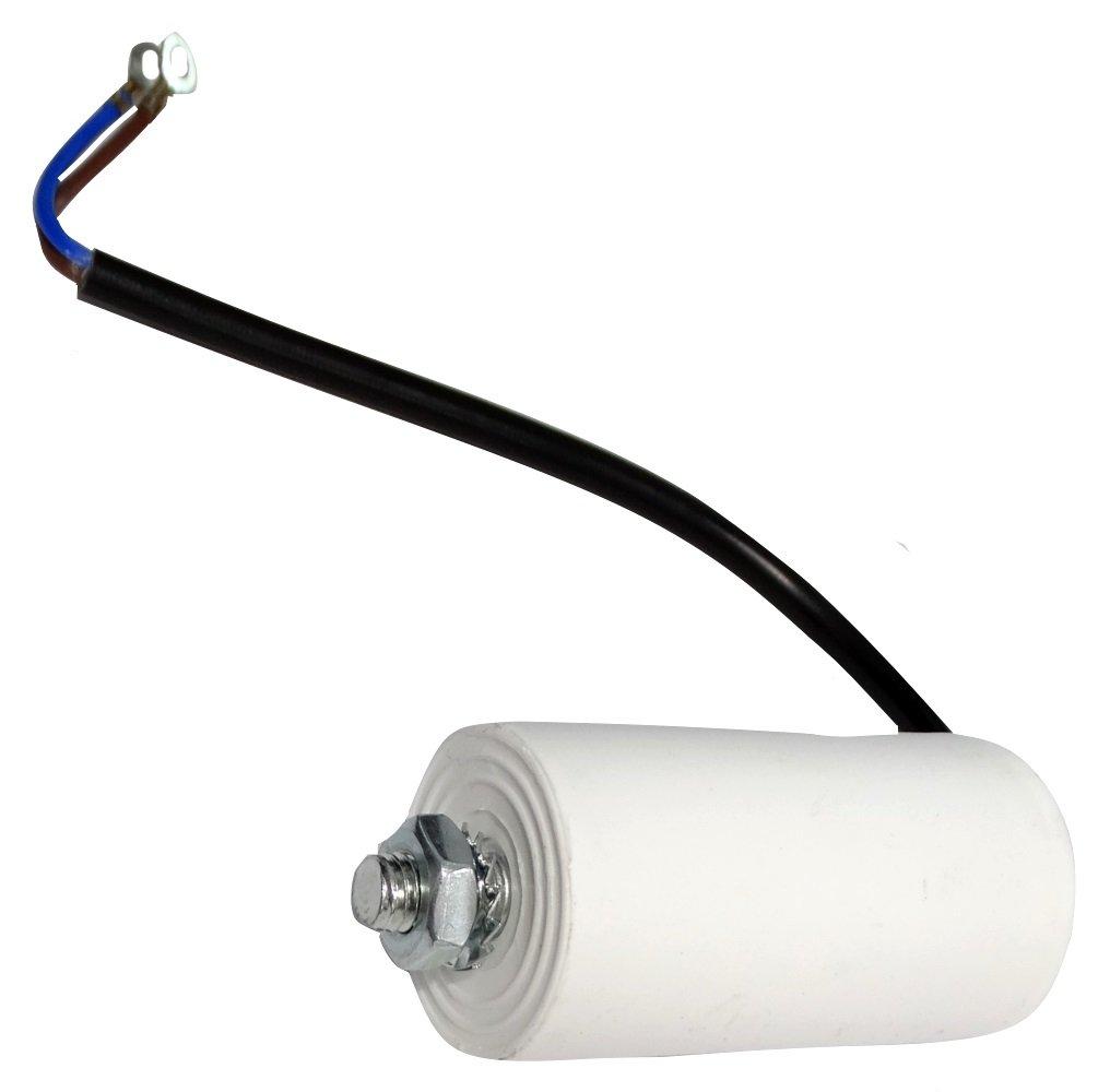 Condensateur Permanent de Travail pour Moteur 8/µF 450V pr/éc/âbl/é /Ø35x65mm /±5/% 3000h C18655 Aerzetix