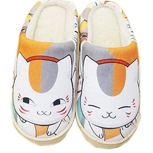 Yuujinchou Zapatos Super Zapatillas de Felpa por estar Anime casa Suave Natsume Bromeo PqXxw5BBt