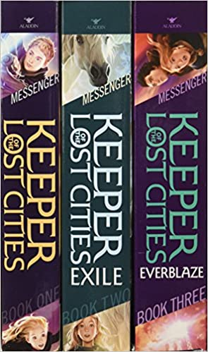 Keeper Of The Lost Cities Collection Books 1 3 Exile Everblaze Shannon Messenger 9781481451123 Amazon