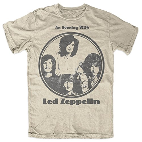 Led Zeppelin - An Evening With - Adult T-Shirt - (Stairway Plant Stand)