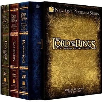 The Lord of the Rings: The Motion Picture Trilogy Special Extended ...