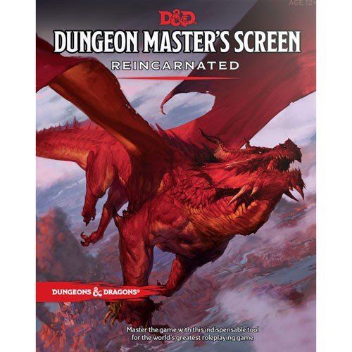 Dungeons And Dragons Dungeon Master (Dungeons & Dragons 5th RPG - Dungeon Master's DM Screen - Reincarnated (Fifth Edition))