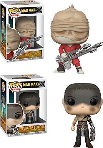 Funko POP! Mad Max Fury Road: Coma-Doof + Furiosa – Stylized Movie ...