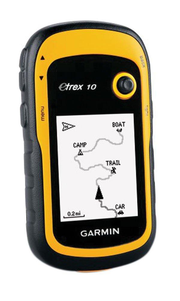Navigation GPS GARMINETREX10JAUNE