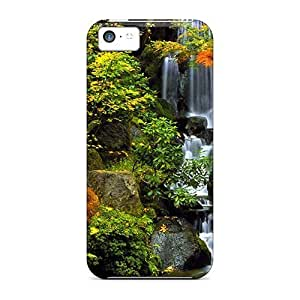 Diy iPhone 6 plus Awesome Autumn Waterfall Flip Case With Fashion Design For iPhone 6 plus