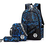 Leegoal Laptop Backpack, 2018 Fashionable Children's Schoolbag Notebook Backpack Daily Backpack for Boys and Girls, Multi-Compartment Fortnite School Bag