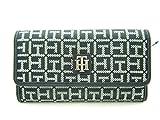 Tommy Hilfiger Logo Women's Wallet Clutch Bag - Black / White
