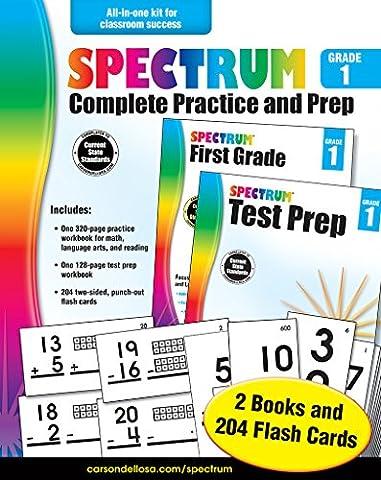 Spectrum Complete Practice and Prep, Grade 1 (Spectrum Grade 5 Test Prep)