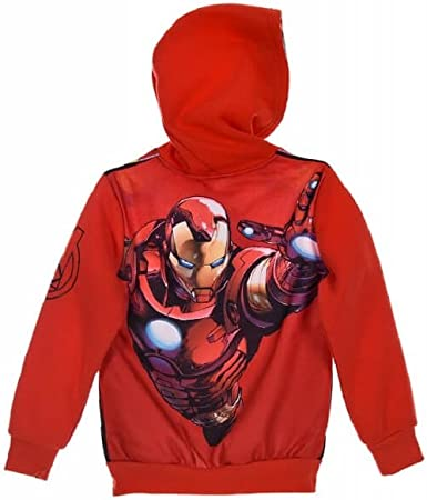 Marvel - Sudadera con Capucha - Manga Larga - para niño