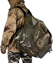 MOPHOEXII Hunting Bags Mesh 1-Pack Duck Decoy Bag for Goose Turkey Hunting Waterfowl Backpack, Army Green Deco