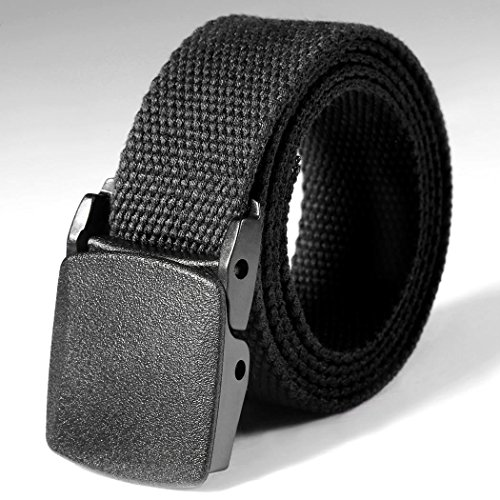 Tactical Adjustable Survival Solid Nylon Outdoor Waist Belt