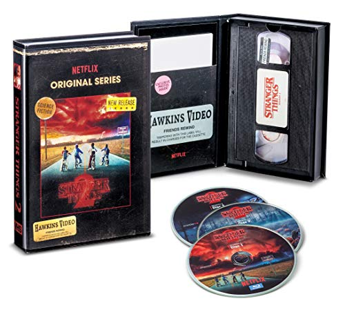 Stranger Things Season 2 Blu-Ray/DVD Collector's Edition