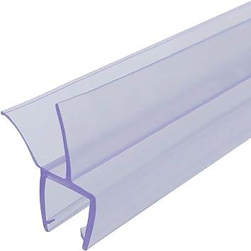 Queenbox Tira de sellado para puerta de vidrio de ducha de 70 cm, espacio de sellado