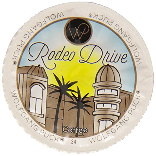 Wolfgang Puck Rodeo Drive Coffee Single Serve Cups for Keurig, 48 Count