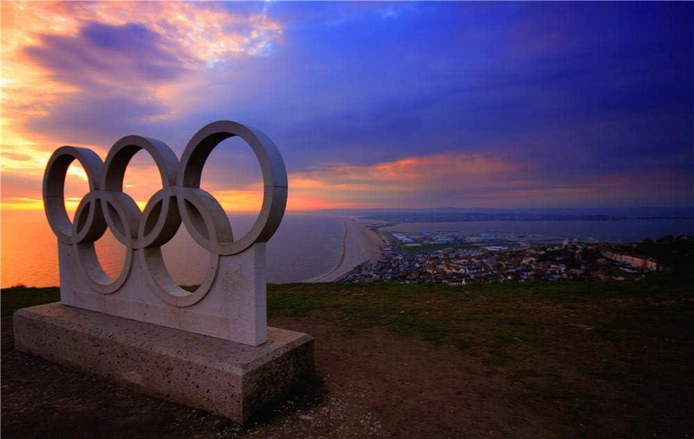 Rompecabezas De 1000 Piezas Rompecabezas Bloque De Hormigón De Las Olimpiadas Grises para Niños Adultos