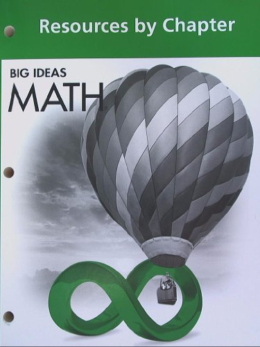 Big Ideas Math  Resources By Chapter Green Course 1