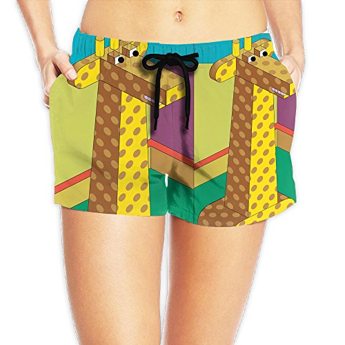 Price comparison product image Giraffe Lady Sexy Breathable Summer Shorts The Popular Style