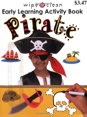 Clean Early Learning Activity Pirate