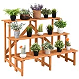 Giantex 3-Tier Plant Stand Flower Pot Holder Wide