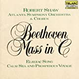 Beethoven: Mass in C, Elegiac Song, & Calm Sea and Prosperous Voyage by Shaw/ASO/Chorus (1990-05-03)