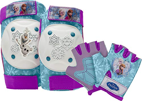 Bell Disney Frozen Pad and Glove Set (Frozen Knee And Elbow Pads)