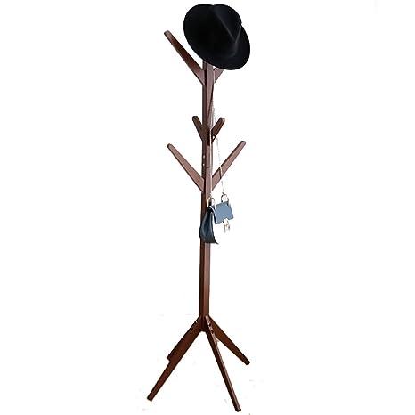 Perchero Simple Creativo Forma de árbol Capa de Madera ...