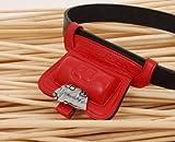 Petego Looper Scooper Waste Bag Dispenser, Red