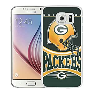 Green Bay Packers 35 White Cool Abstract Picture Case For Samsung Galaxy S6 Phone Case