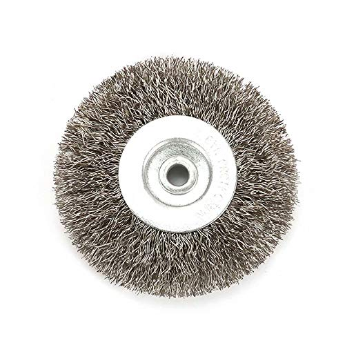 3 Inch Crimped Stainless Steel Wire Wheel Brush with 1/4