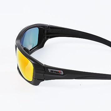Outdoor-sportarten Reitbrille Polarisierte Anti-ultraviolett Sonnenbrille Tactical Shooting Anti-auswirkungen Brille für Mann und Frauen , black