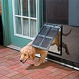 """Namsan Dog Screen Door for Sliding Door Pet Door for Screen Door - 12"""" x 16"""""""