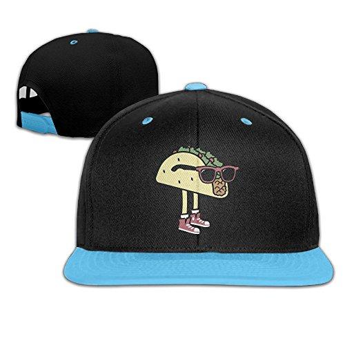 Cool Sunglass Taco Adjustable Unisex Hip Hop Hat Stylish Flat Hat For Kids One - Cool Sunglasses Meme