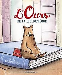 l'ours de la bibliothèque