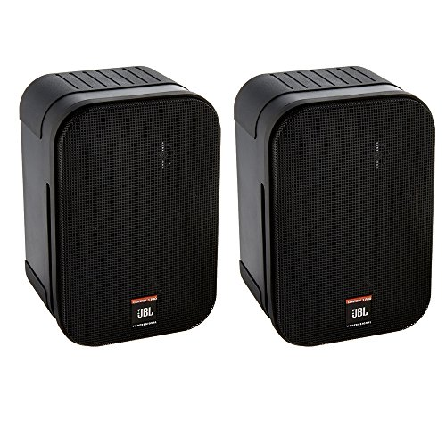 2 Way Compact Shielded Speakers (JBL Control 1 Pro High Performance 2-Way Professional Compact Loudspeaker System, Black (sold as pair))