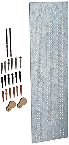ChefwareKits 393 Cribbage Board 2-lane Template Starter Kit, Steel