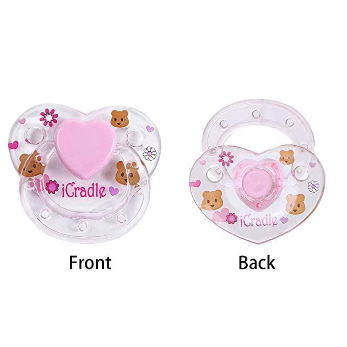 Amazon.com: Walmeck Doll Pacifier, 1Pcs Reborn Doll Supplies Magnet ...