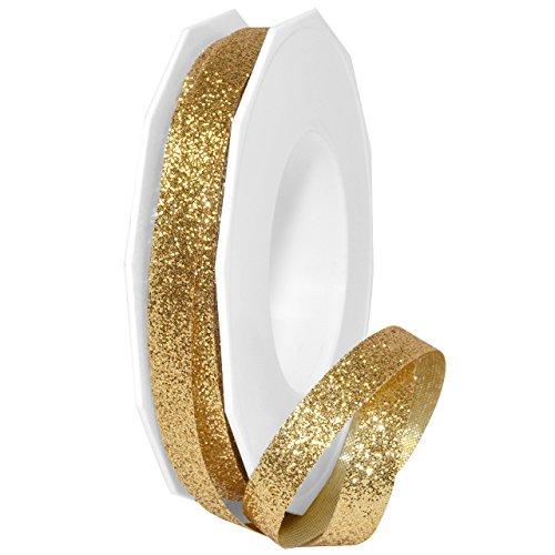Morex Ribbon 98502/25-634 Metallic Princess Glitter, 3/8
