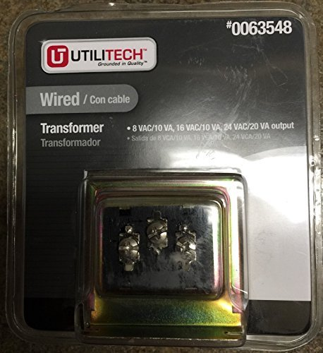 Utilitech Wired Transformer #0063548