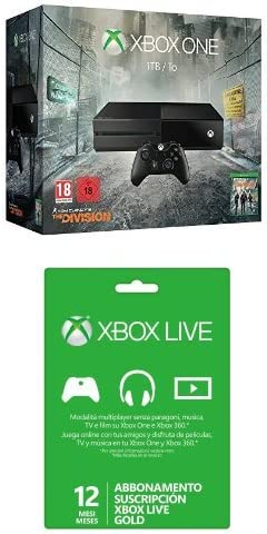 Xbox One - Pack de consola 1 TB + Tom Clancys The Division + ...