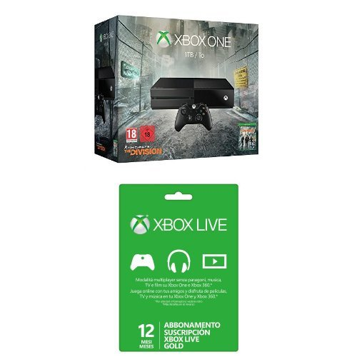 Xbox One - Pack de consola 1 TB + Tom Clancys The Division ...