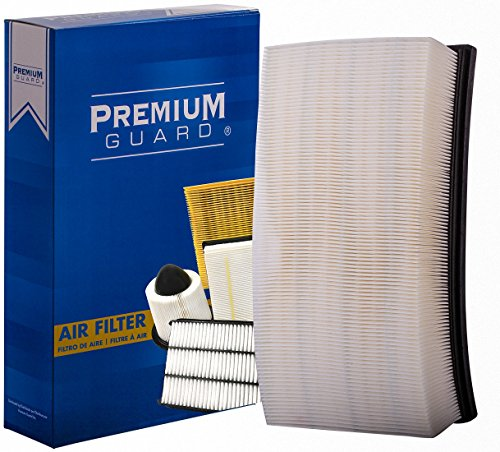 Premium Guard Air Filter PA4866 | Fits Jaguar S-Type 2008-2002, Super V8 2009-2006, Vanden Plas 2009-2004, XF 2018-2009, XFR 2015-2010, XFR-S 2015-2013, XJ 2018-2010 by Premium Guard