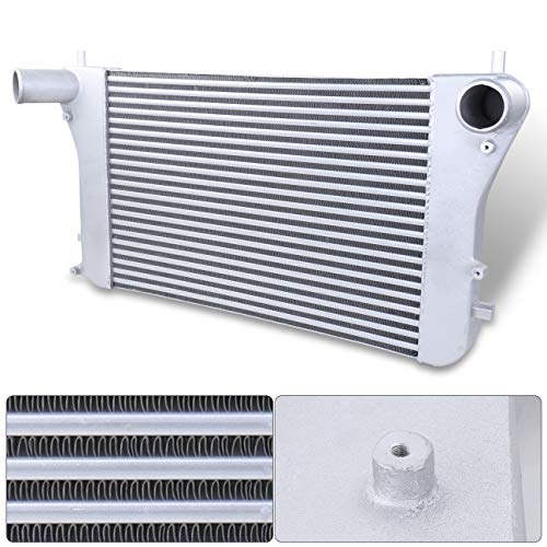 AJP Distributors Turbo Front Mount Intercooler For Volkswagen GTI/Audi A3 2.0T FSI Upgrade Bolt On Replacement Performance