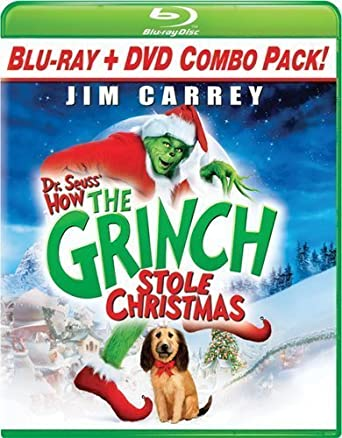 Dr. Seuss How The Grinch Stole Christmas Blu-ray Combo Pack ...