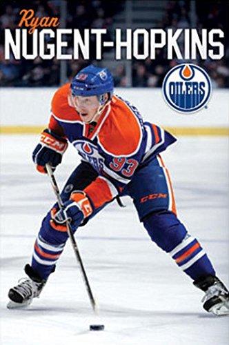 Edmonton Oilers Ryan Nugent-Hopkins Sports Poster