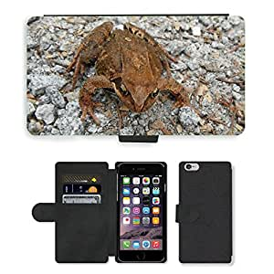 hello-mobile PU LEATHER case coque housse smartphone Flip bag Cover protection // M00136094 Anfibio de la rana Animal salvaje // Apple iPhone 6 4.7""