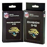 NFL Jacksonville Jaguars Multiplication and Division Flash Cards