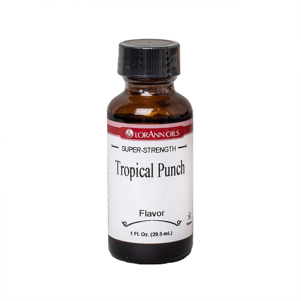 LorAnn Tropical Punch (Passion Fruit) Super StrengthFlavor, 1 ounce bottle