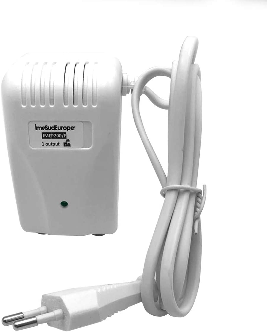 imesudeurope.online Fuente de alimentación de antena de TV de 12 V con 1 salida de conexión a F. Fuente de alimentación de TV para amplificador de ...