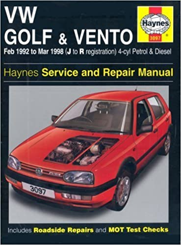 Vw golf & vento haynes service and repair manual by: mark in south.
