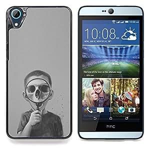 """S-type Biología Cráneo oscuro profundo Ciencia"""" - Arte & diseño plástico duro Fundas Cover Cubre Hard Case Cover For HTC Desire 826"""